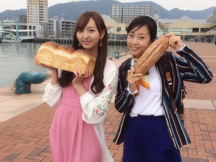 【森保まどか】NHK BSプレミアムで放送されるパン旅長崎ロケ報告
