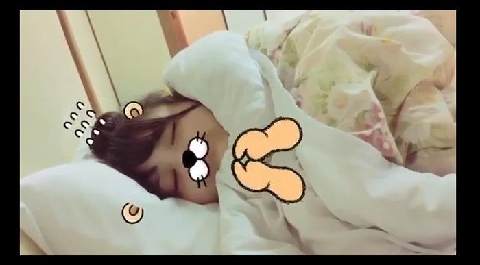 【豊永阿紀】あきちゃんの寝顔きたああ小躍り