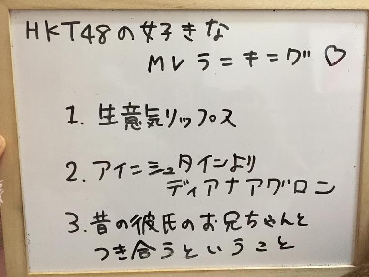 【今村麻莉愛】HKT48の好きなmvランキング