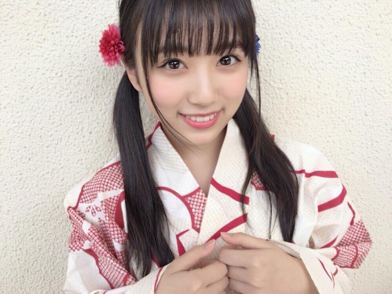 矢吹奈子の着物画像