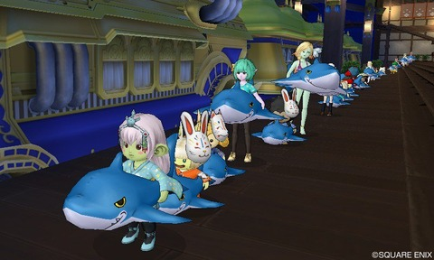 148_サメ電車集会
