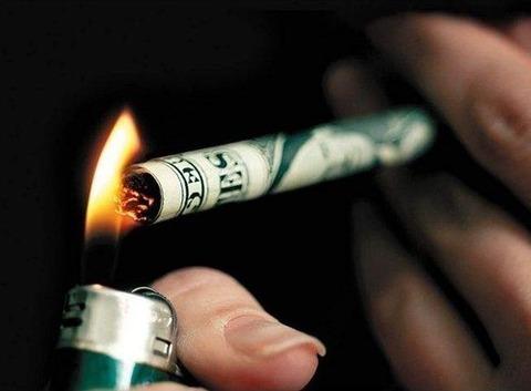 Cigarette-money
