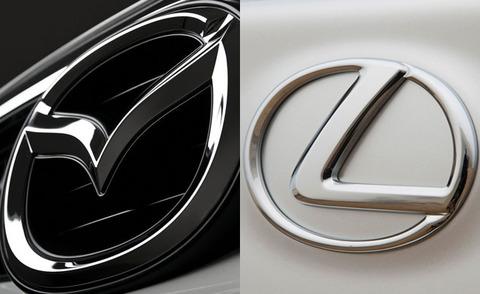 Mazda-Lexus-badges