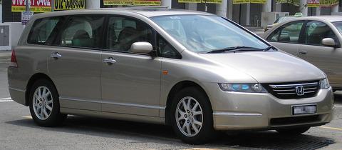 Honda_Odyssey_(third_generation)_(front),_Serdang