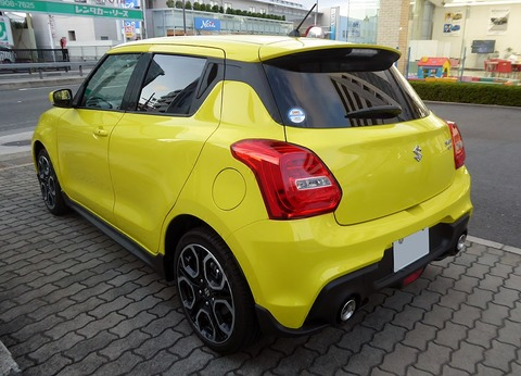1024px-Suzuki_SWIFT_Sport_(CBA-ZC33S-VBRM-J)_rear
