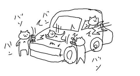 【ねこバンバンの季節】冬に多発「クルマのボンネットにネコ侵入…