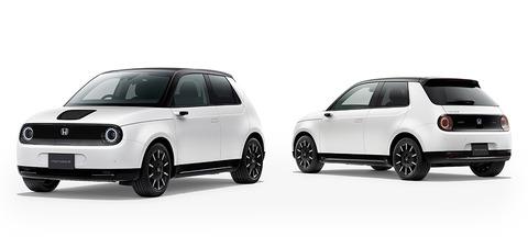 ホンダ、日本車初の快挙! 電気自動車の「Honda e」がドイツでイヤーカー受賞