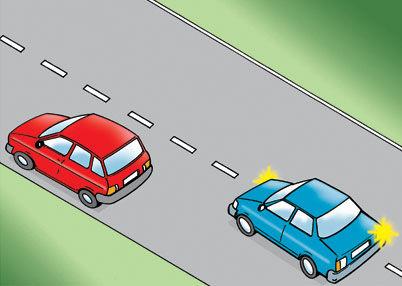 keep left except when overtaking (1)