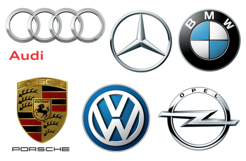 German-car-brands-logotypes