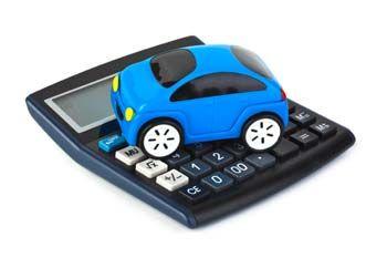 car-on-calculator