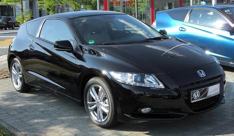 Honda_CR-Z_front_20100704