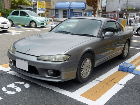 1024px-The_frontview_of_Nissan_Silvia_spec_S_(S15)