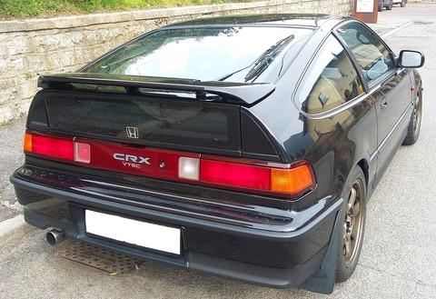 1987_Honda_CR-X_rear