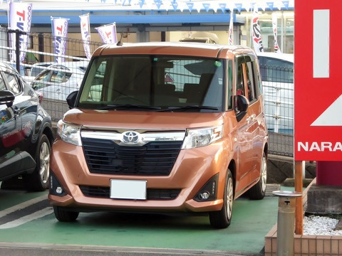 Toyota_ROOMY_X_S__(DBA-M900A-AGBME)_front