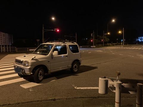 ワイの車、交差点で動かなくなる