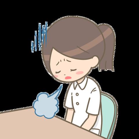 the-sigh-depressed-nurse