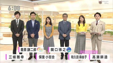 和久田麻由子 おはよう日本 18/11/28