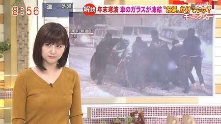 宇賀なつみ モーニングショー 18/12/28 #2