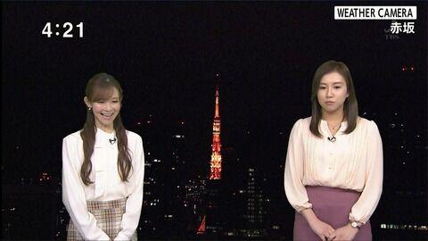 及川藍 TBS NEWS 20/01/14
