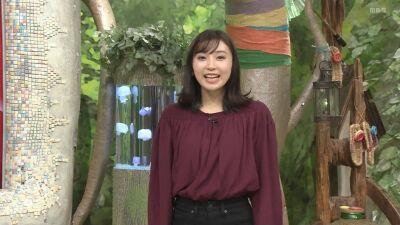 野嶋紗己子/ちちんぷいぷい「みんなもサンタににれる・・・サンタバル」20191203