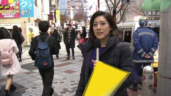 【画像】今日の桑子真帆さんと上原光紀さん 12.6