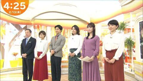 上村彩子 はやドキ! 20/02/13