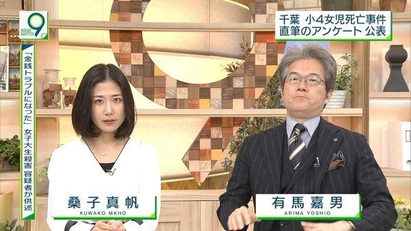 【画像】今日の桑子真帆さん 2.1