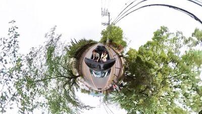 斎藤真美/ほな行こCar!~寄りみちドライブ~「満開のバラ庭園を目指してほな行こCar!① コンペイトウミュージアム」20210606岡副麻希