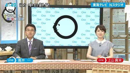 上山真未 ニュースOne 18/06/20