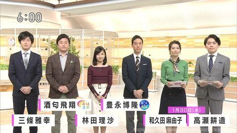 和久田麻由子 おはよう日本 19/01/30
