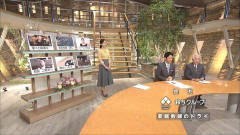 森川夕貴 報道ステーション 19/01/29
