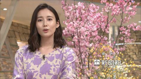 森川夕貴 報道ステーション 19/03/21