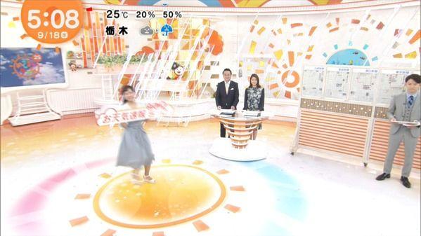 【画像】今日の藤本万梨乃さんと鈴木唯さん 9.18