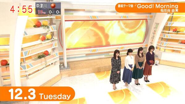 【画像】今日の松尾由美子さんと新井恵理那さん 12.3