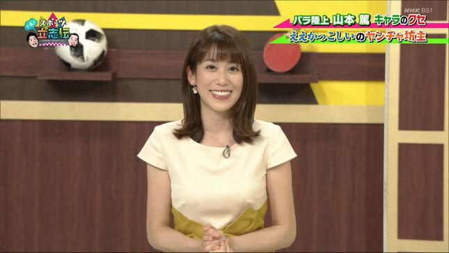 中川安奈アナ シースルー、脇、巨乳、太ももチラ!!【GIF動画あり】