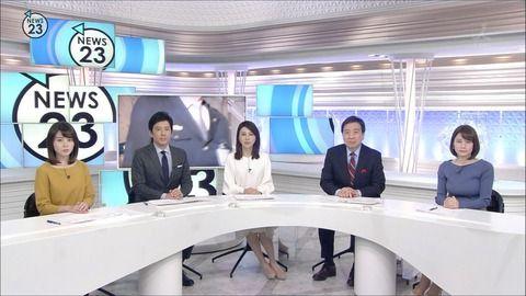 皆川玲奈 NEWS23 19/01/30