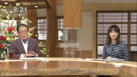 水野真裕美 サンデーモーニング 18/11/18