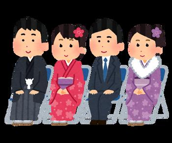 【話題】新宿区の成人式の様子がこちら → これが日本の将来の姿だろ・・・・