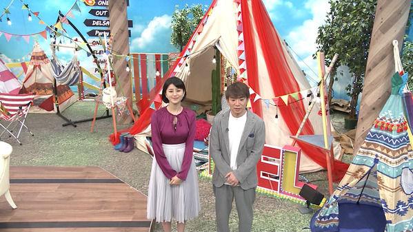 【画像】今日の島津咲苗さんと鈴木ちなみさん 10.13