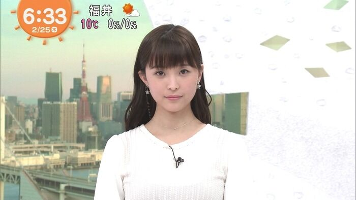 【画像】渡邊渚アナのおっぱいファンが満足してくれない