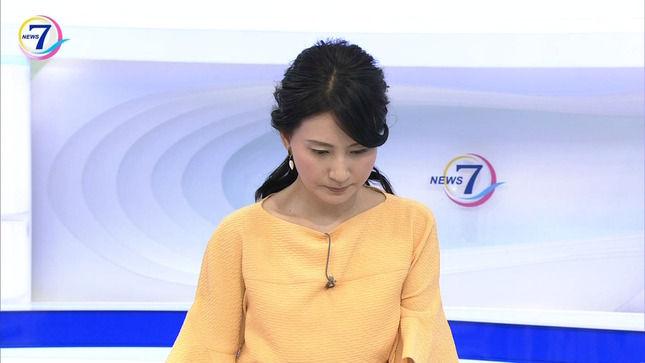井上あさひアナ NHKニュース7