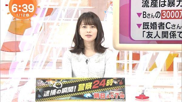 【画像】今日の高見侑里さん 1.12