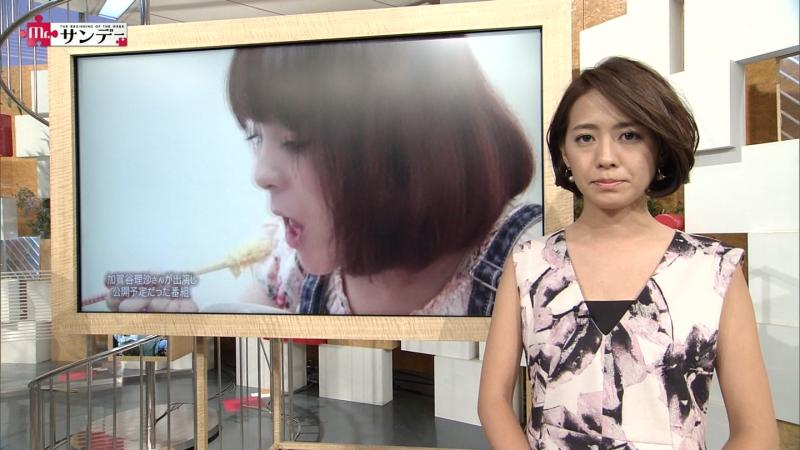 【Mr.サンデー】椿原慶子 専用 20150830(日)【画像】【2ch】脇エロい