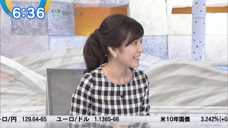 西野志海さんのエロい横乳 モーサテ 181110