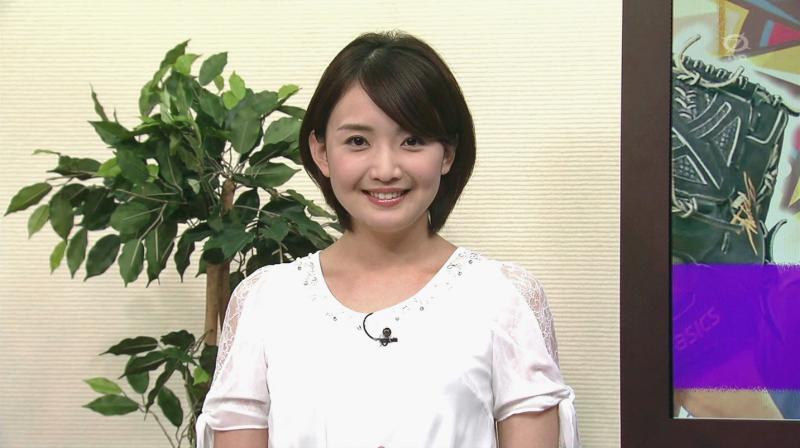 【テレ東】 白石小百合 【仕事無いよ(泣)】 脇チラ
