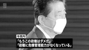 【悲報】与党内「もう安倍政権はダメだ」←これwwww