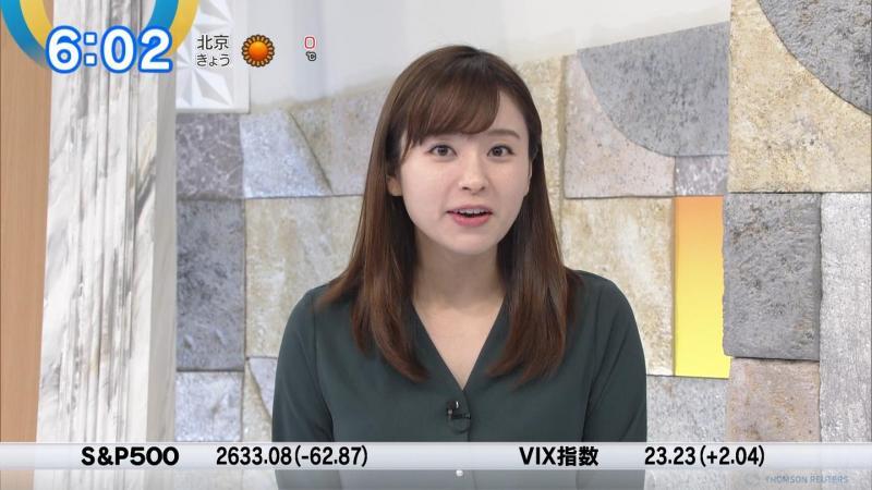 角谷暁子のムッチリ胸元 モーサテ 181211