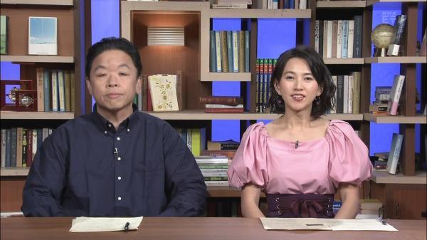 島津有理子 エロいおっぱい 100分de名著 180214