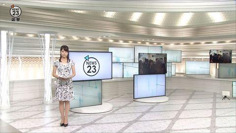 宇内梨沙 NEWS23 16/06/29