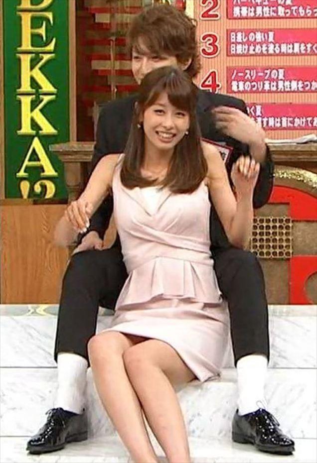 加藤綾子のぐうエロなパンティー見せ